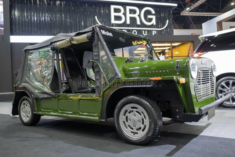 Bangkok, Tailandia - 30 novembre 2018: Automobile dal gruppo di BRG all'EXPO 2018 del MOTORE internazionale dell'Expo 2018 del mo fotografia stock libera da diritti