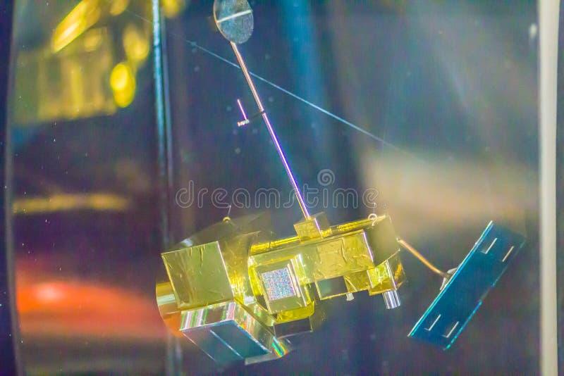 Bangkok, Tailandia - 4 novembre 2017: Modello di Landsat 5, un minimo fotografia stock libera da diritti