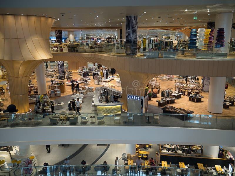 BANGKOK, TAILANDIA - 14 NOVEMBRE 2018 negozio dentro il grande magazzino del Siam dell'icona, centri commerciali di qualità super fotografia stock libera da diritti