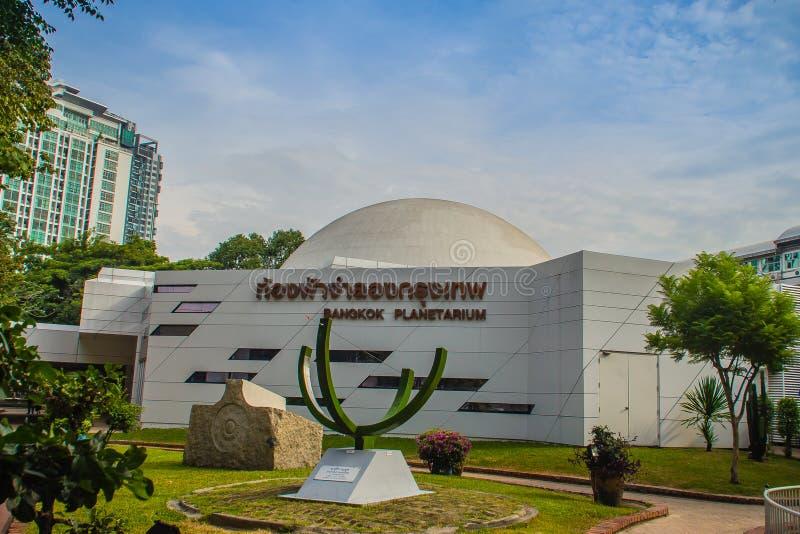 Bangkok, Tailandia - 4 novembre 2017: Planetario di Bangkok, la o fotografia stock