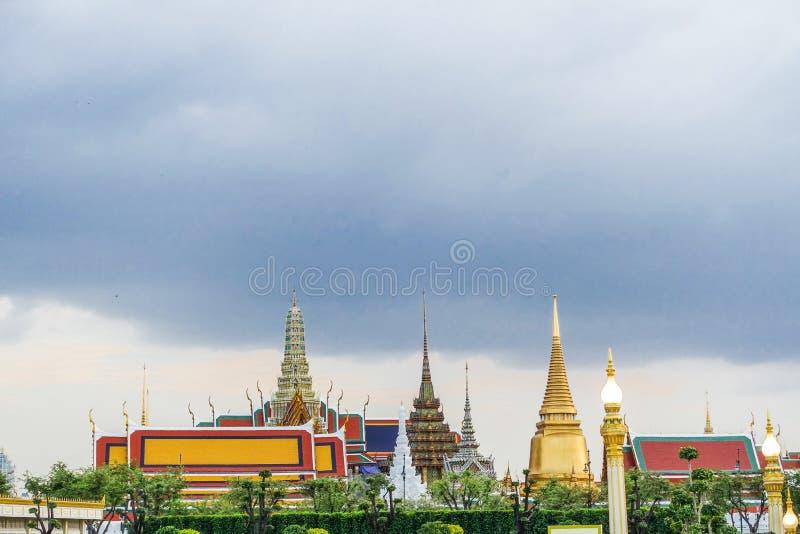 Bangkok, Tajlandia: Listopad 29, 2017 Królewski Crematorium dla HM królewiątko Bhumibol Adulyadej przy Sanum Luang obrazy royalty free