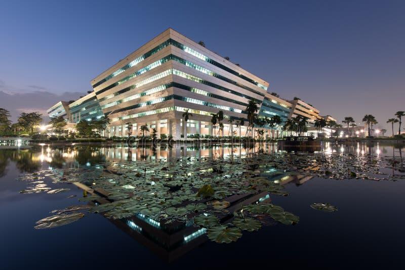 BANGKOK TAJLANDIA, Październik, - 4, 2018: Budynek rząd obraz royalty free