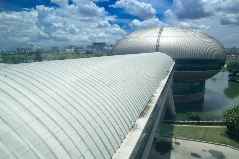 BANGKOK, TAJLANDIA sala gimnastyczna krajobraz, Governm fotografia stock