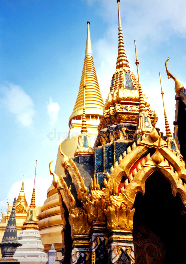 Bangkok Temples royalty free stock photography