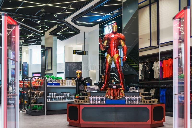Bangkok, Thaïlande - 11 août 2018 - Boutique à l'experi de merveille photo stock