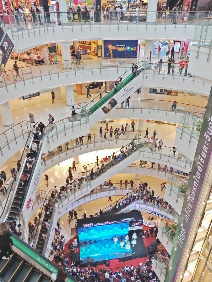 Bangkok, Thaïlande - 26 janvier 2018 : Événement d'intérieur d'expo du Japon au monde central photo stock