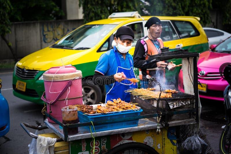 Bangkok, Thaïlande - 20 juin 2018 : Nourriture de rue à Bangkok photos stock