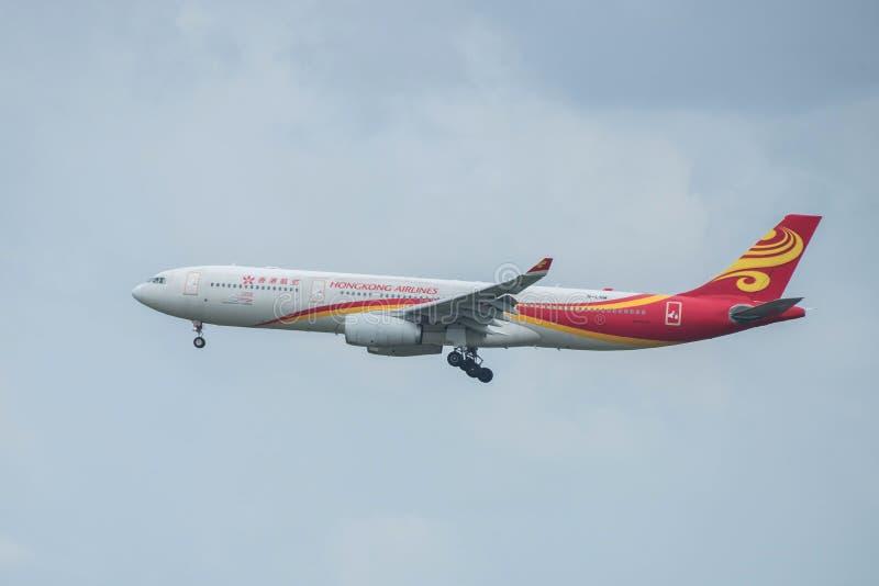 Bangkok, Thaïlande, le 12 août 2018 : Hong Kong Airlines Reg Non B image libre de droits