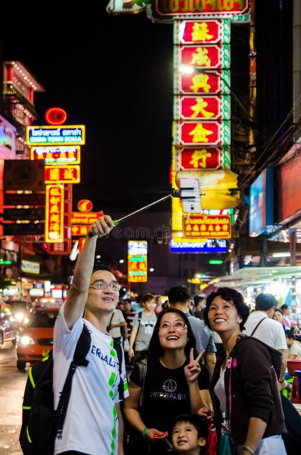 Bangkok, Thaïlande : Ville de la Chine images stock