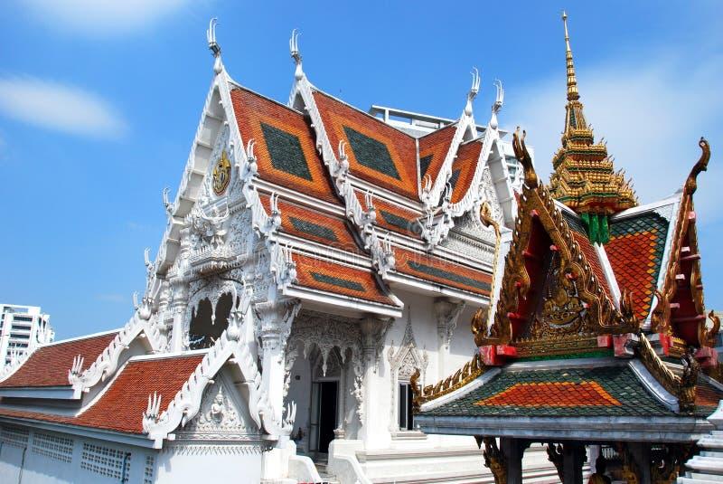 Bangkok, Thaïlande : Wat Hua Lumphong images stock