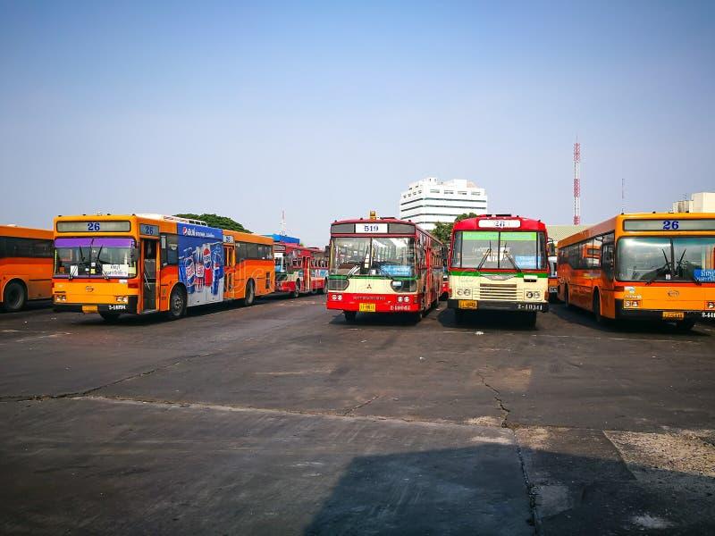"""Bangkok, Thailand †""""` Minburi ` één van de 50 districten khet van Bangkok, Thailand Het is begrensd door andere de Busterminal  stock afbeeldingen"""