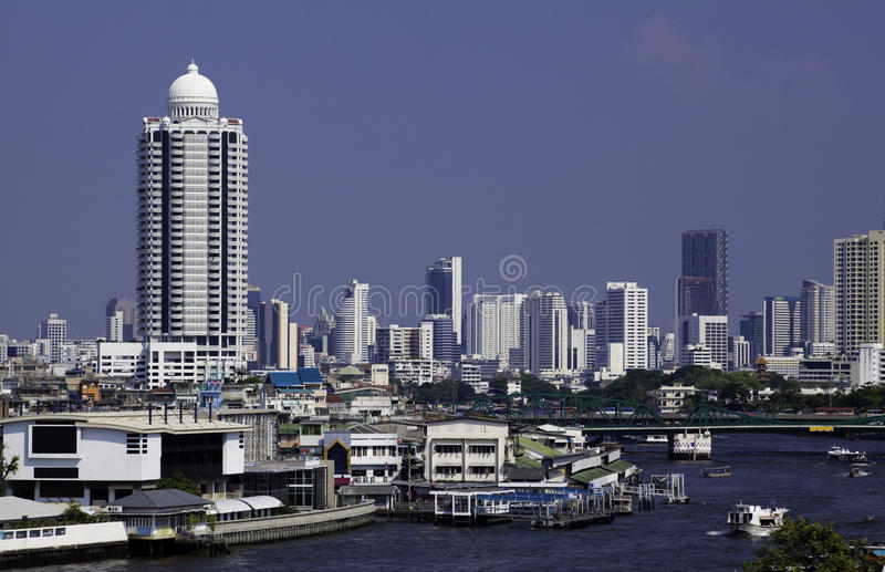 Download Bangkok Thailand stock image. Image of boat, city, outside - 14089207