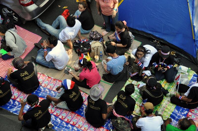 Bangkok, Thailand: Anti-Government Demonstrators Editorial Image