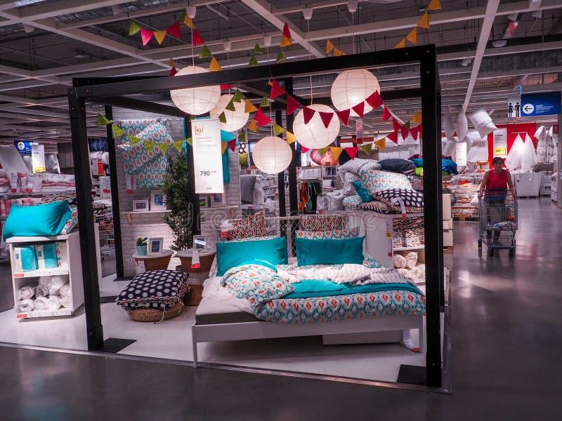 BANGKOK, THAILAND - April 4, 2017: Showroom of IKEA Belaya Dacha shopping mall.  stock images