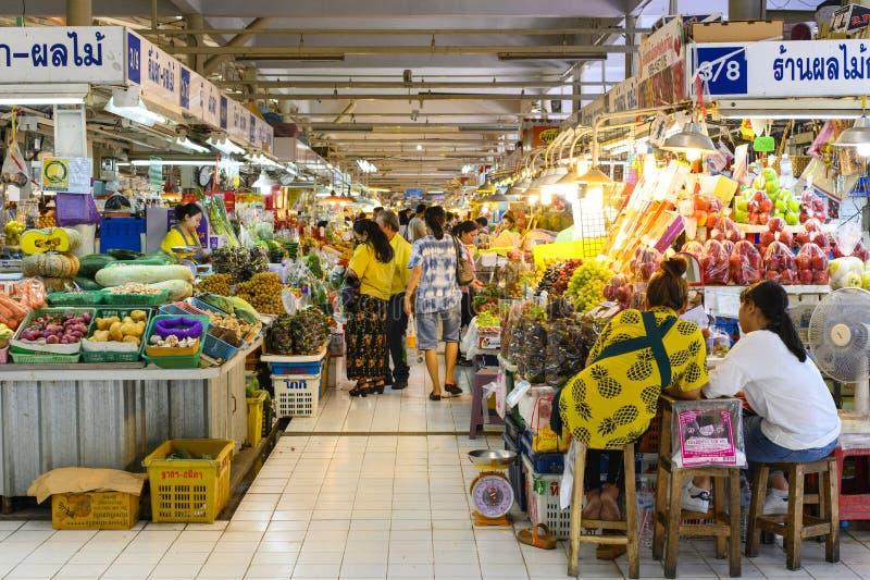 Bangkok, Thailand - April 6, 2019 : Or Tor Kor is one of the biggest food market in Bangkok stock photo