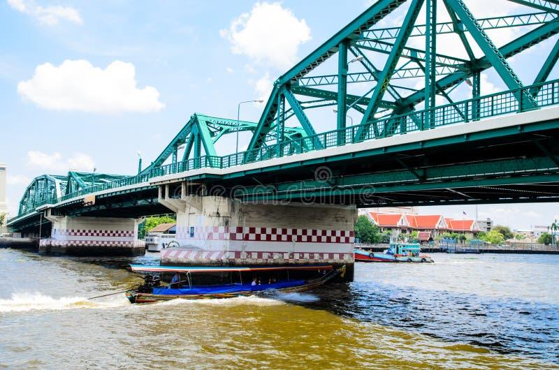 Bangkok Thailand: Brug royalty-vrije stock afbeeldingen