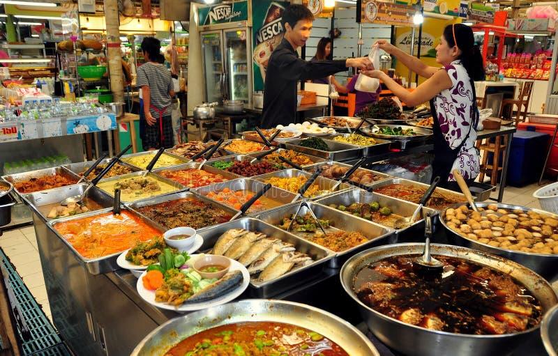 Bangkok, Thailand: Of de Markt van Kor van de Piek royalty-vrije stock afbeeldingen