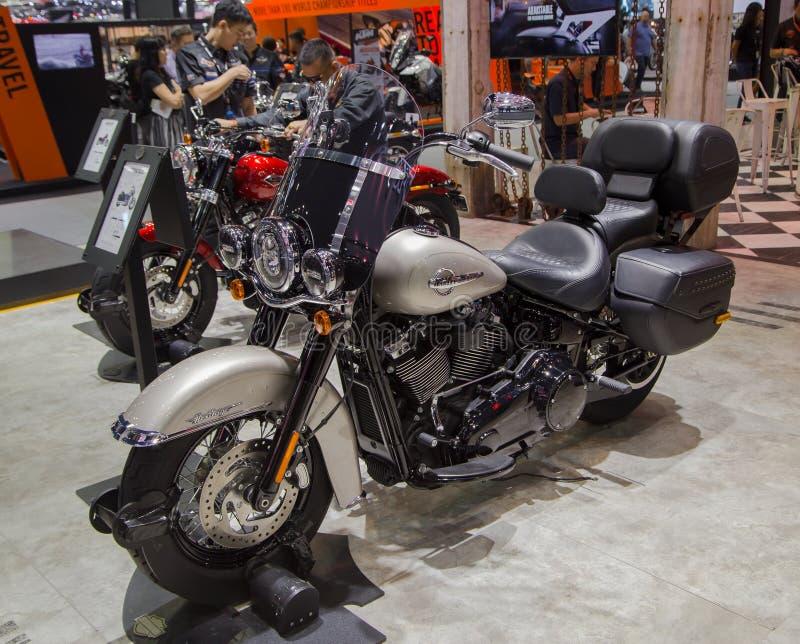 Harley Davidson Heritage Softail Classic 2018 stock photos