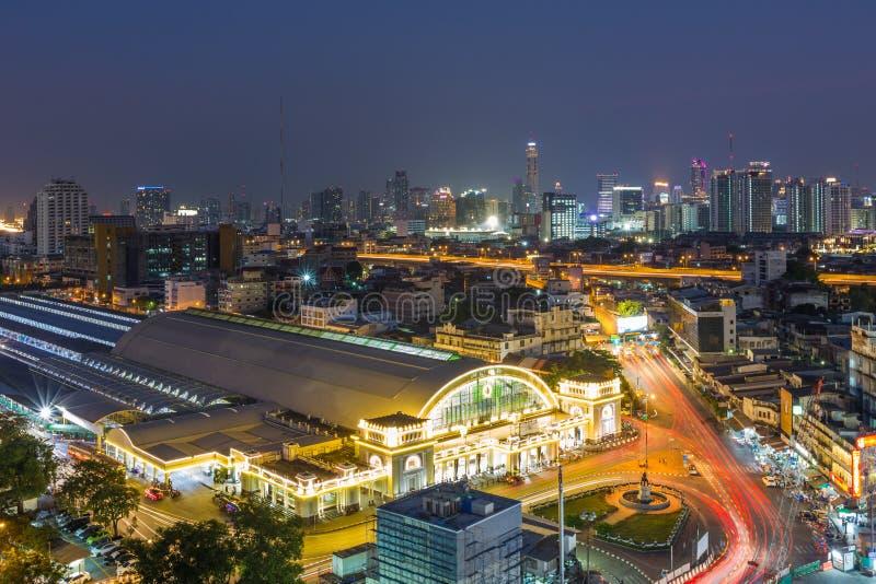 BANGKOK, 5 Thailand-Februari: Het centrale station HU van Bangkok stock fotografie
