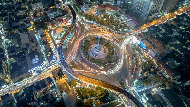 Bangkok, Thailand – Juli 29, 2019: Het Overwinningsmonument van royalty-vrije stock foto