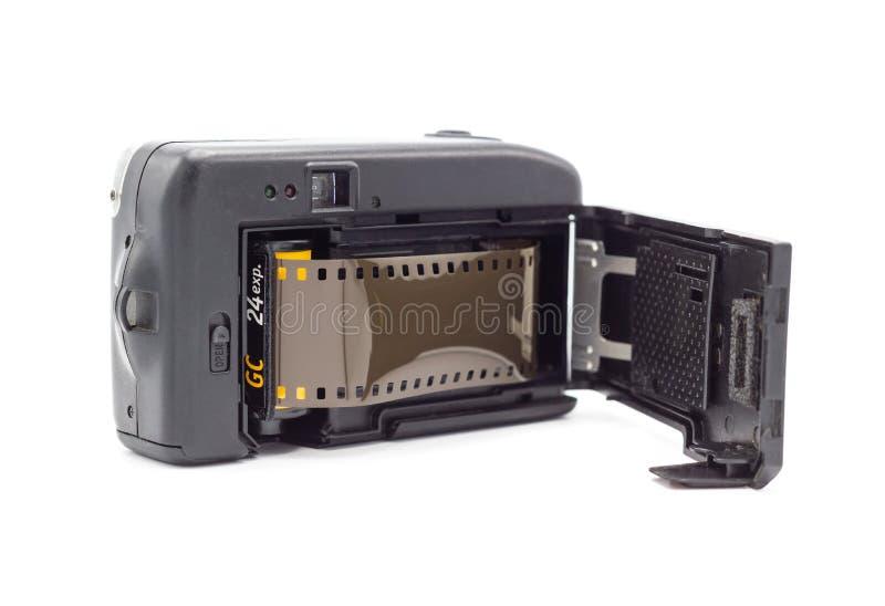 Bangkok Thailand - July 6, 2018: Kodak Gold for film camera, Old various vintage 35mm film rolls stock images