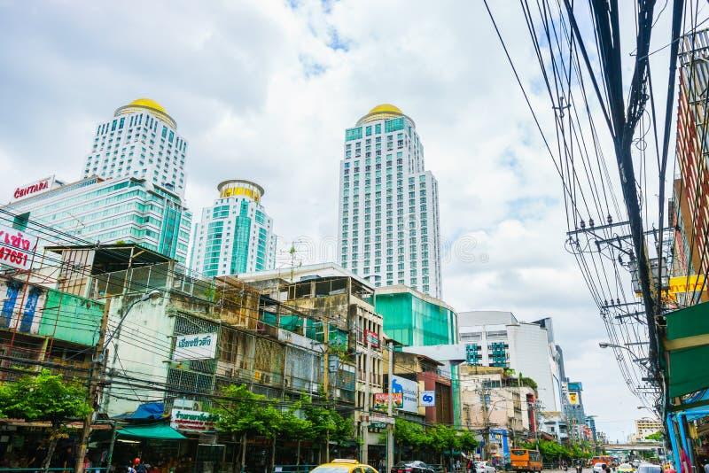 Bangkok, Thailand - Juni 3, 2017: Berkeley Hotel Pratunam-wi stock foto's