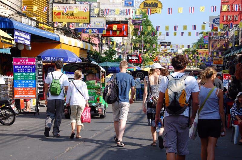 Bangkok, Thailand: Khao San Road stock image