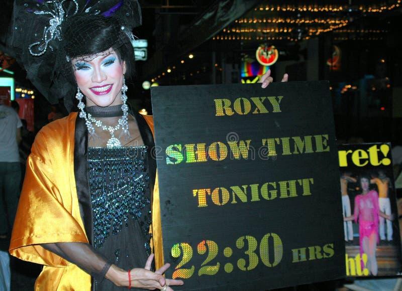 Download Bangkok, Thailand: Ladyboy On Silom Road Editorial Image - Image: 20435670