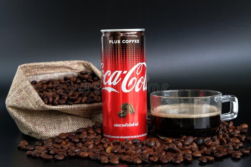 Coca Cola Plus Coffee stock photography