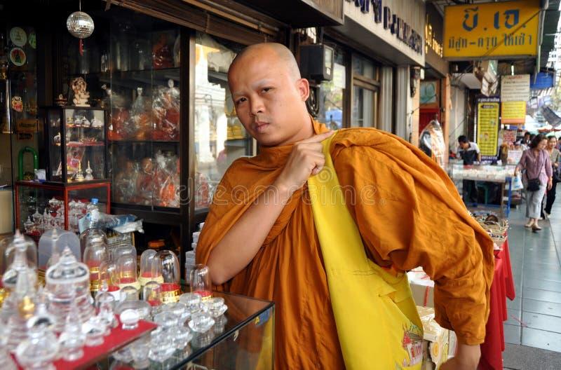 Download Bangkok, Thailand:  Monk On Phra Prachan Editorial Stock Photo - Image: 18249978