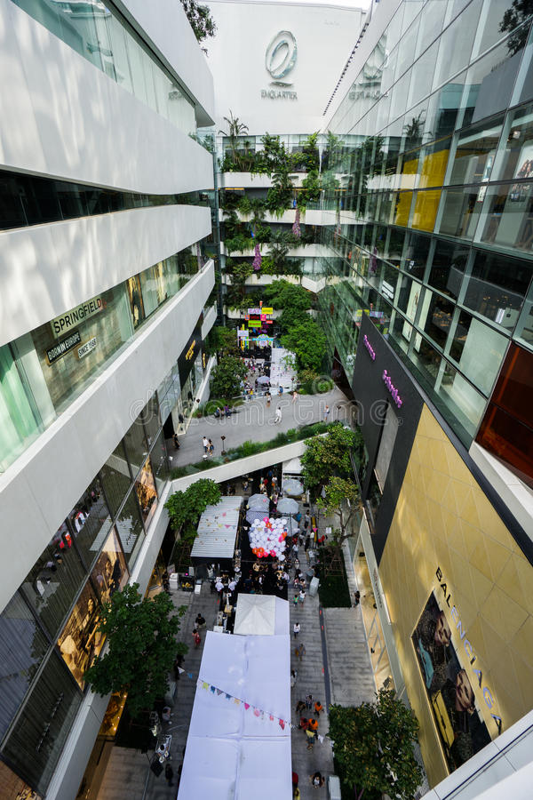 Download Bangkok, Thailand - 22 November 2015 : Emquartier Shopping Mall (The EM District World Class Shopping Extraordinaire) At BTS Phrom Editorial Image - Image: 63623090