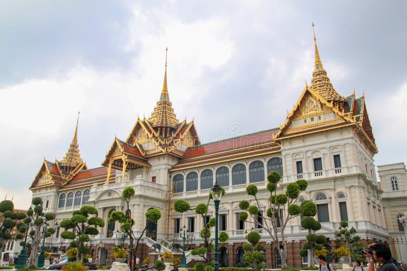 Bangkok, Thailand 8. Oktober 2010: Die touristische Reise am königlichen großartigen Palastmarkstein in Bangkok, Thailand stockfotografie