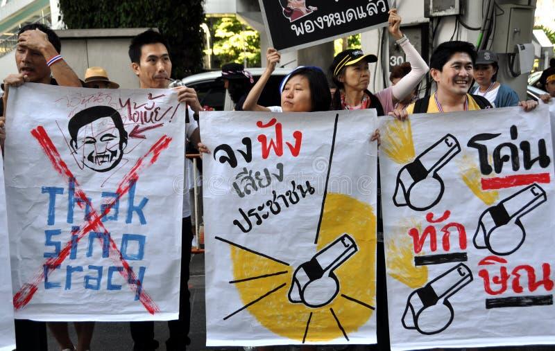 Download Bangkok, Thailand: Operation Shut Down Bangkok Protestors Editorial Stock Image - Image: 36682964