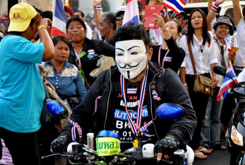 Download Bangkok, Thailand: Operation Shut Down Bangkok Protestors Editorial Stock Image - Image: 36682699