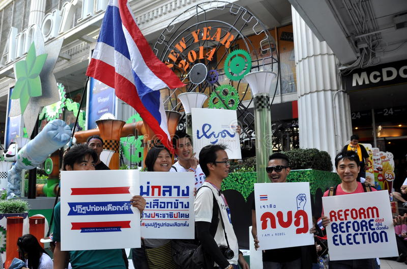 Download Bangkok, Thailand: Operation Shut Down Bangkok Protestors Editorial Image - Image: 36681585