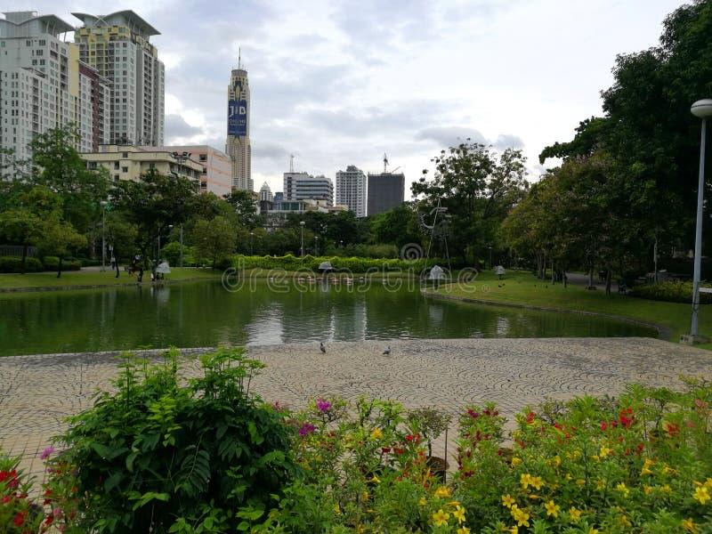 Bangkok - Santiphap Park Peace Park stock photos