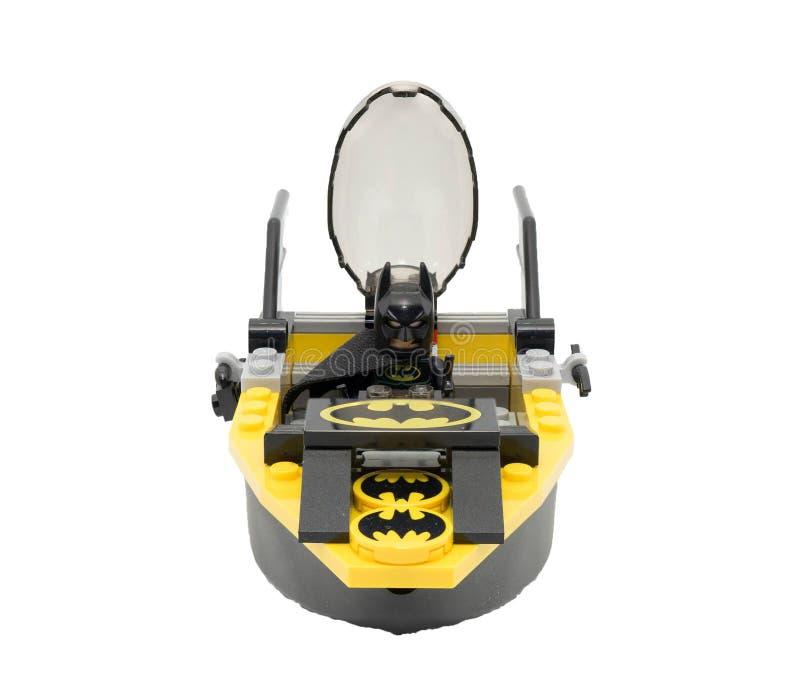 Bangkok, Thailand am 20. September 2017 illustrativer Leitartikel, Lego Batman stockfotos