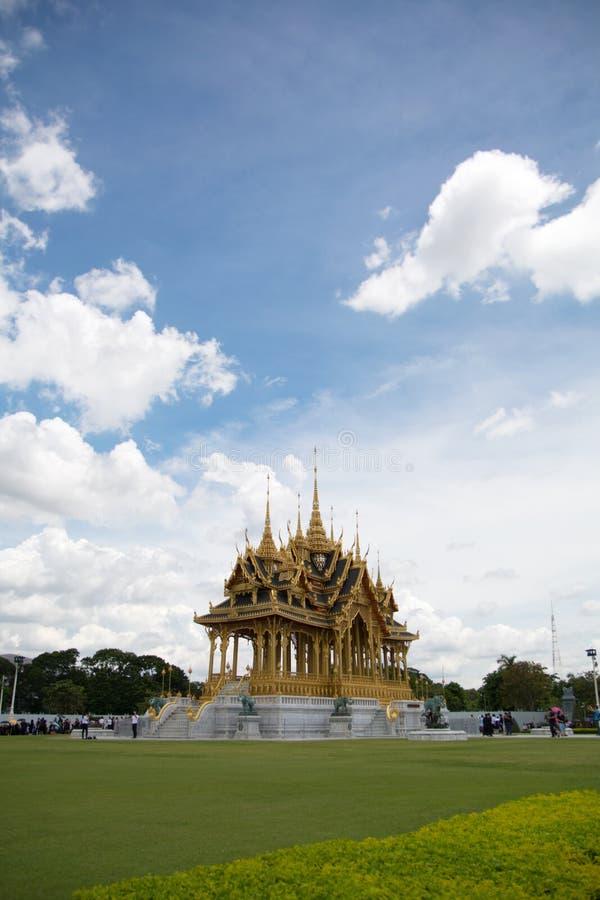 Bangkok Thailand, 28 September 2017, oigenkännlig folkvisiti arkivbilder