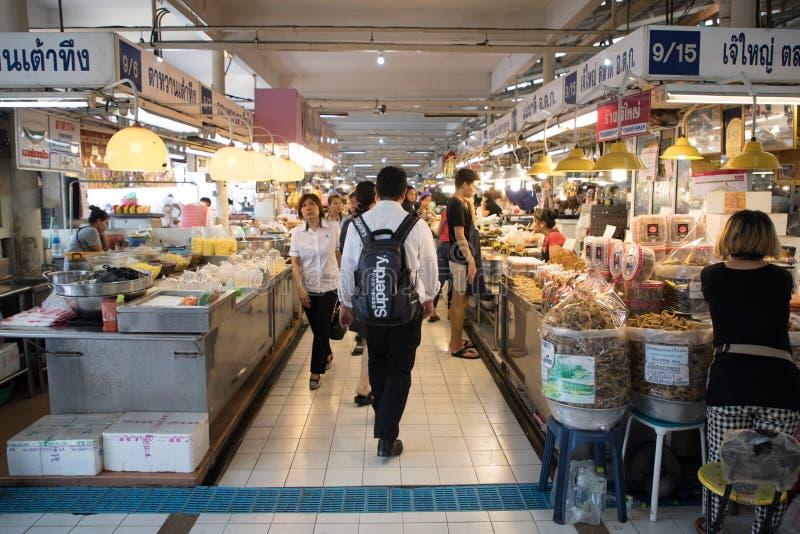 BANGKOK, THAILAND-SEPTEMBER 4: Unidentified People Walk Through stock photos