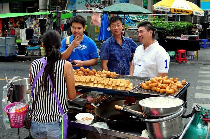 Download Bangkok,Thailand: Three Men Buying Food Editorial Photo - Image of three, thai: 28783296