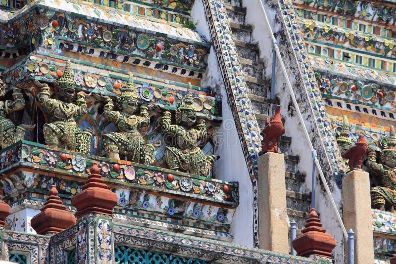 Bangkok Thailand Wat Arun stockfotografie