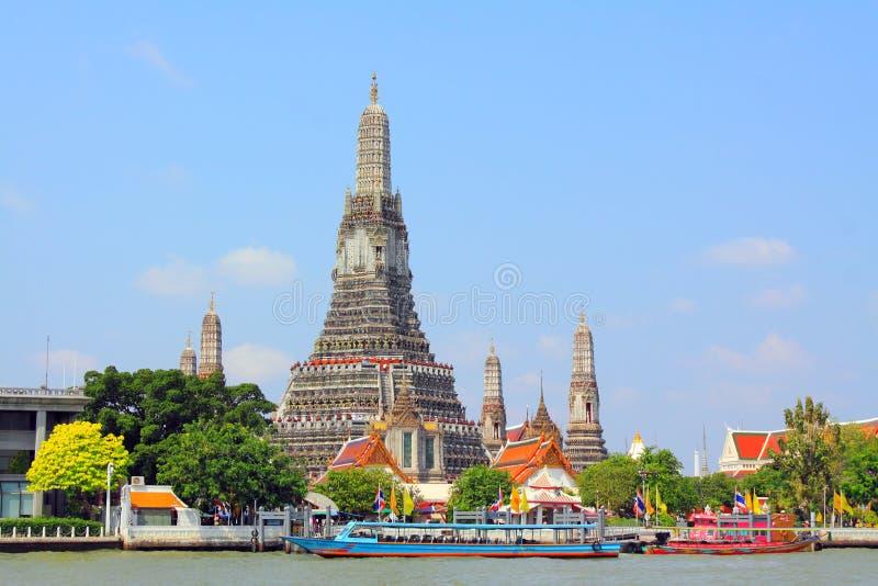 Bangkok Thailand Wat Arun royaltyfri fotografi
