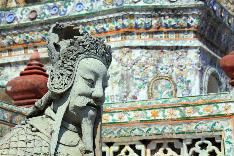 Bangkok Thailand Wat Arun arkivfoton