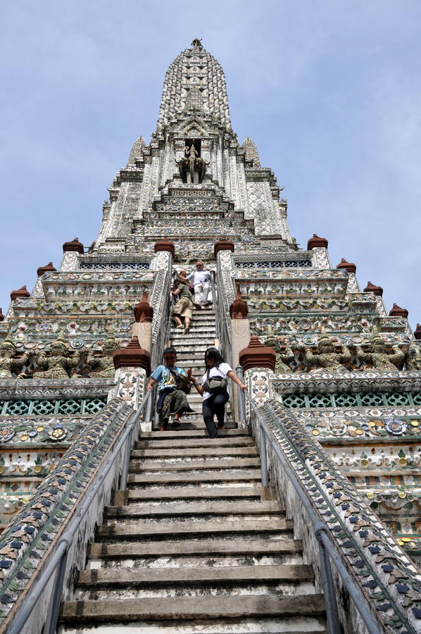 Free Bangkok, Thailand: Wat Arun (Temple Of Dawn) Royalty Free Stock Photos - 18326658