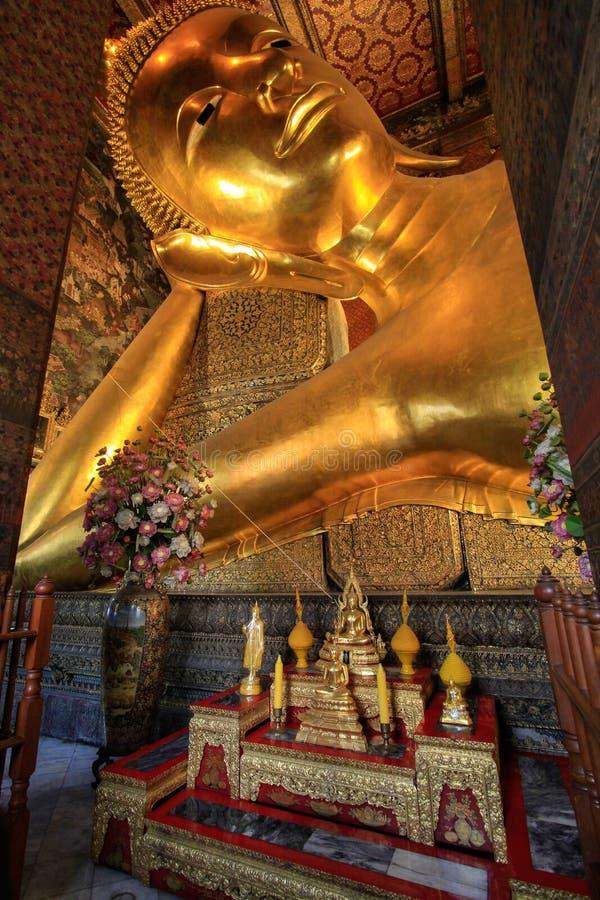 Bangkok Thailand, Wat Pho Temple fotografering för bildbyråer