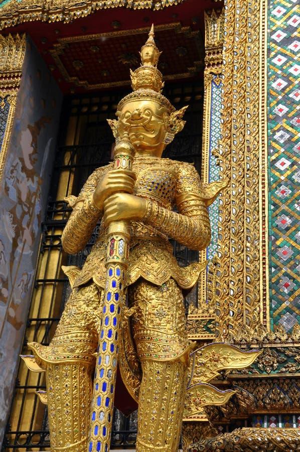 Free Bangkok, Thailand: Wat Phra Kaeo Giant Guardian Royalty Free Stock Images - 12803279