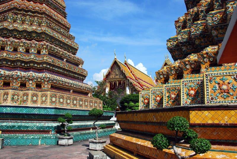 Bangkok, Thailand: Wat Po royalty-vrije stock foto