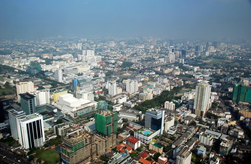 Bangkok, Thaland : Vue panoramique de ville photos stock
