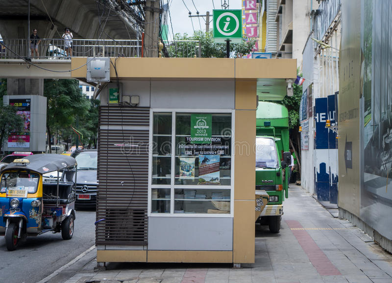 Bangkok Tourist Information Booth stock photos