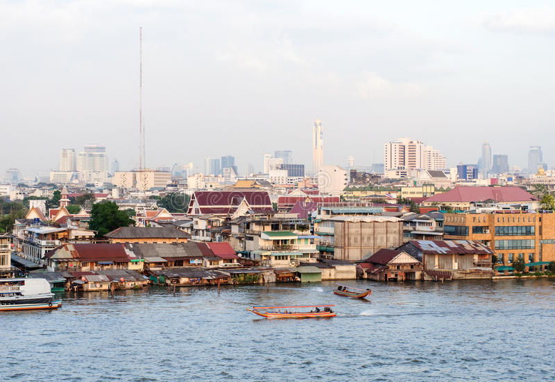 Download Bangkok town view stock photo. Image of famous, beautiful - 26594030